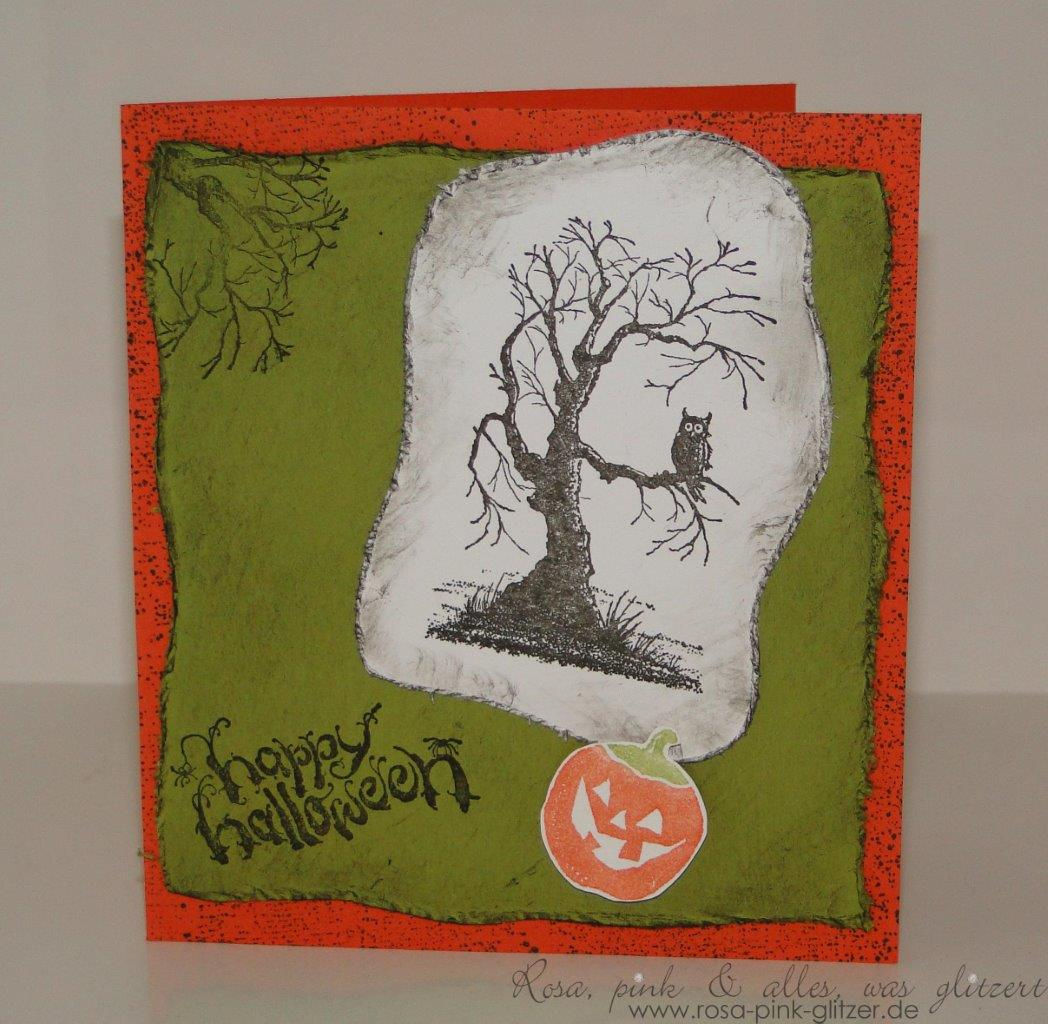 Stampin up Landshut - Halloween - House of Haunts