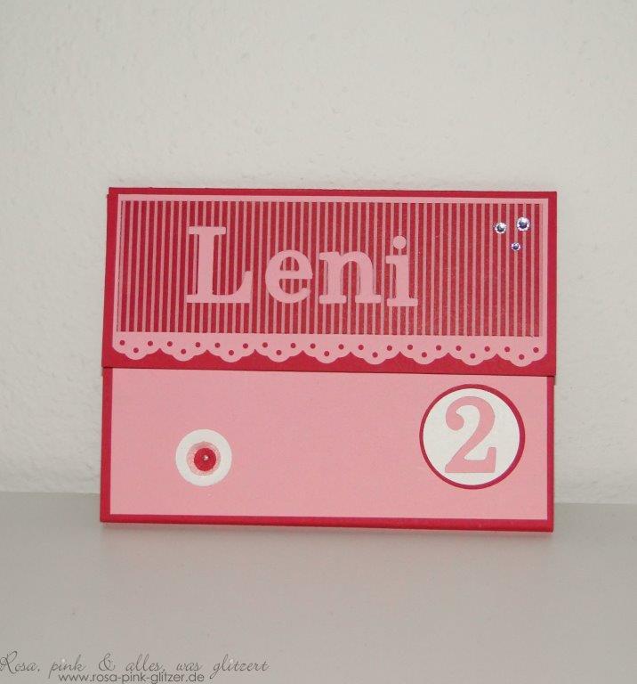 Stampin up Landshut - Minialbum Leni 1