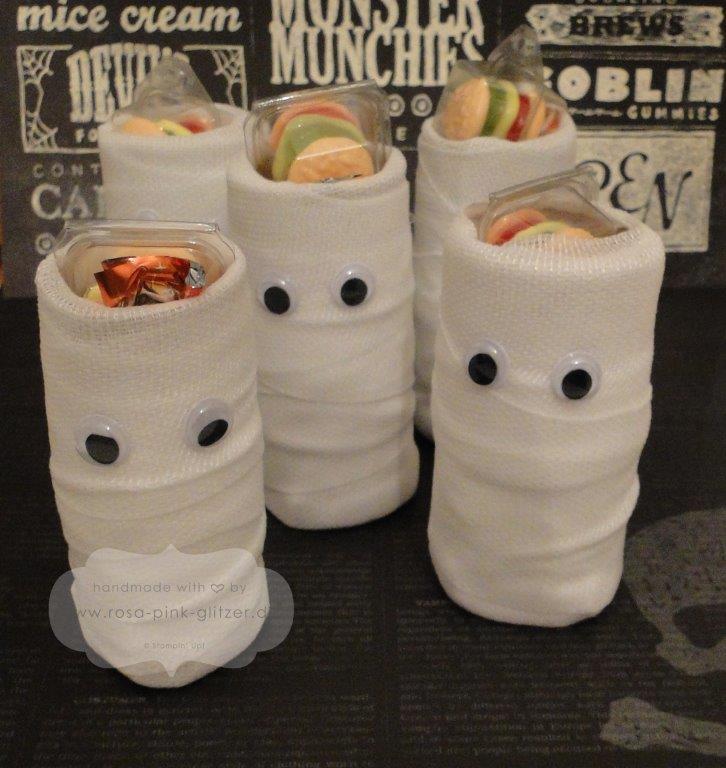 stampin up Landshut - Mumien für Kinder Halloween