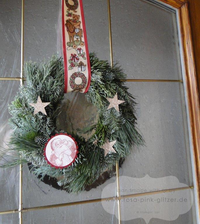 Stampin up Landshut - Türkranz Weihnachten Wunschliste Nikolaus 1