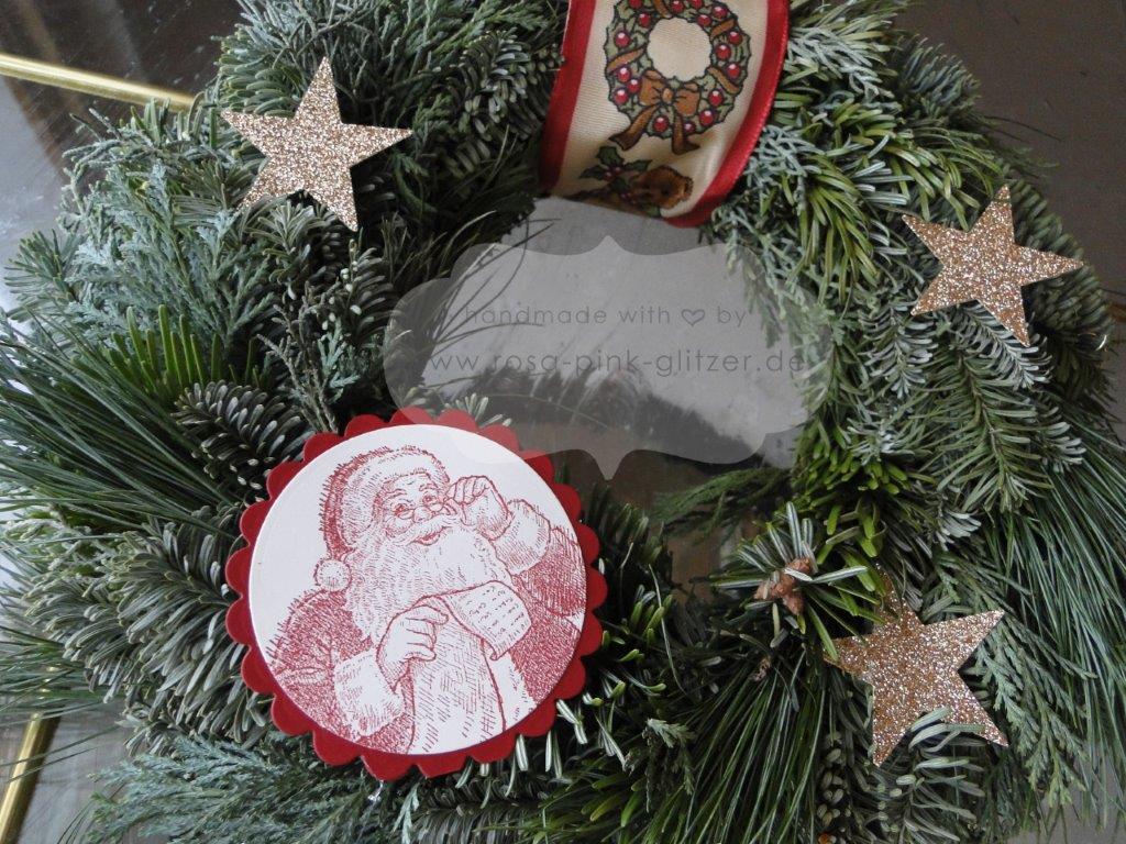 Stampin up Landshut - Türkranz Weihnachten Wunschliste Nikolaus 2