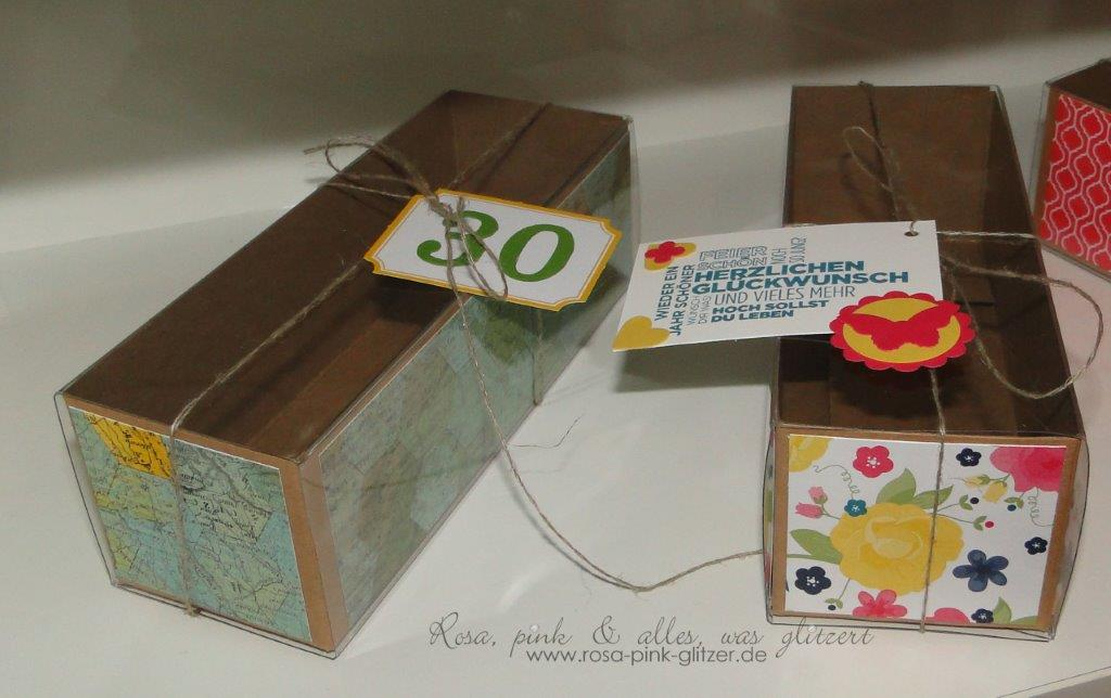 Stampin up Landshut - workshop Box 1