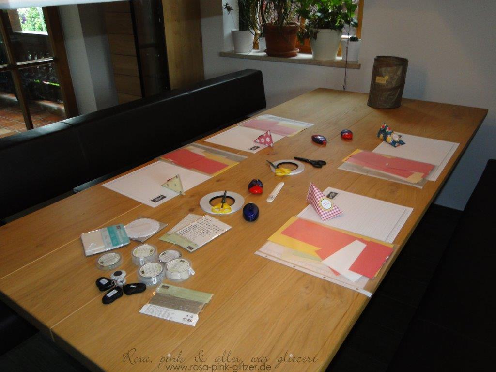 Stampin up Landshut - Workshop in Landshut 1